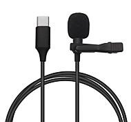 economico -mini microfono mic usb c microfono a condensatore tipo c registrazione audio per huawei xiaomi samsung telefono android usb c microfono