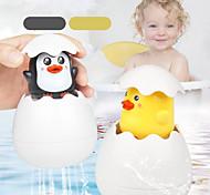 abordables -bébé jouet de bain enfants mignon canard pingouin oeuf pulvérisation d'eau arrosage salle de bain arrosage douche natation eau jouets enfants cadeau couleur aléatoire