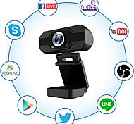 economico -Webcam 1080p full hd con microfono videocamera web usb videocamera per computer in streaming per pc windows 120 gradi grandangolare 30 fps sensore grande superiore scarsa illuminazione per videochiama