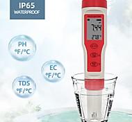 economico -nessuna batteria ez9908 phmetro digitale 4 in 1 ph tds ec temp tester sostituire la sonda quantità d'acqua misura strumento analizzatore di urina di vino
