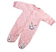 abordables -Vêtements de poupées Reborn Baby Accessoires de poupée Reborn Tissu en Coton pour poupée Reborn de 22 à 24 pouces Poupée Reborn Non Incluse Lapin Doux Pur fait main Fille 1 pcs