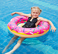 abordables -Donut Gonflable de Piscine Anneaux de natation Flotteur de piscine Flotteurs de piscine Gonflable PVC Eté Vacances Plage Fête de la piscine Garçon Fille Enfant