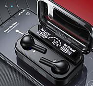 economico -iMosi F8 Auricolari wireless Cuffie TWS Senza filo Stereo Dotato di microfono Con il controllo del volume per Apple Samsung Huawei Xiaomi MI Cellulare