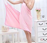 abordables -Qualité supérieure Serviette de bain, Couleur Pleine 100 % Polyester Salle de séjour / Chambre à coucher / Salle à manger 1 pcs