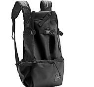 abordables -Chien Chat Petits Animaux à Fourrure Sac à dos de voyage Carrier Bag Ajustable Respirable Camping et randonnée Classique Térylène Noir Rouge Bleu / Pliable