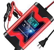 economico -Caricabatterie per auto 12v 6a completamente automatico caricabatterie per riparazione a impulsi caricabatterie caricabatterie per batterie al piombo acido secco display lcd digitale