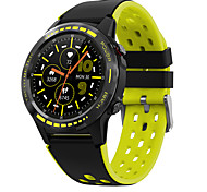 abordables -M7 Smartwatch Montre Connectée pour Android iOS Samsung Apple Xiaomi Bluetooth 1.3 pouce Taille de l'écran IP 67 Niveau imperméable Imperméable Ecran Tactile GPS Moniteur de Fréquence Cardiaque