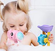 abordables -Nouveaux enfants d'été chauds natation plage jouets salle de bain douche ensemble de modèle d'interaction parent-enfant jouets d'eau 9 pcs
