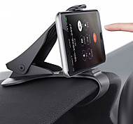 abordables -Accroche Support Téléphone Automatique Grille de sortie d'air Type de boucle Ajustable Polycarbonate Accessoire de Téléphone
