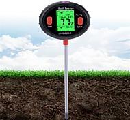 abordables -5 en 1 pH mètre numérique sol eau moniteur d'humidité température analyse d'humidité testeur de lumière du soleil pour jardinage plantes agriculture