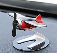 abordables -voiture décoration de la maison aromathérapie avion décoration énergie solaire tourner avion drôle enfant cadeau modèle d'avion