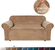abordables -Housse de canapé Couleur Pleine Velventine Polyester / Coton Literie