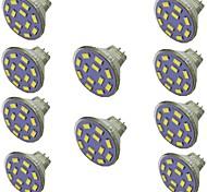 economico -10 pezzi 2 W Faretti LED 300 lm MR11 12 Perline LED SMD 5730 Bianco caldo Bianco 9-30 V