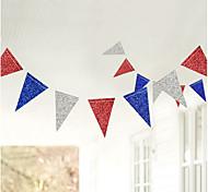 economico -Palloncini per feste 1 pcs Giornata dell'indipendenza Festa dei lavoratori Buon 4 luglio Banner Tutti Fatto a mano per forniture per bomboniere o decorazioni per la casa / Bambino