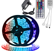 economico -ZDM® 2x5m Set luci Strisce luminose RGB 600 LED SMD 2835 2835 SMD 8mm 1 telecomando da 44Keys 1 set Colori primari Accorciabile Feste Decorativo 12 V / IP65 / Auto-adesivo