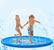 abordables -Splash pad 68kids sprinkler pad pour 1 2 3 4 5 ans enfant en bas âge enfants garçons filles gonflable requin eau jouets amusant pour l'extérieur amélioré sprinkle et splash play mat avec pataugeoire