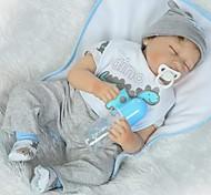 abordables -Vêtements de poupées Reborn Baby Accessoires de poupée Reborn Tissu en Coton pour poupée Reborn de 22 à 24 pouces Poupée Reborn Non Incluse Dinosaure Doux Pur fait main Garçon 6 pcs