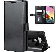 economico -telefono Custodia Per LG Integrale Custodia in pelle Porta carte di credito LG Q Stylus LG V30 LG V20 MINI LG Stylo 5 LG Q8 LG Q7 LG Q6 Plus LG Q6 LG K30 LG K40 A portafoglio Porta-carte di credito