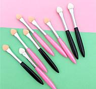 economico -Professionale Pennelli per il trucco 5 pezzi Ecologico Plastica per Eyebrow Colore Pennello da trucco Pennello per ombretto / #