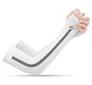 abordables -Manches de bras de refroidissement de protection solaire UV Bouclier de protection du bras de compression Manchettes Chauffe-bras Antidérapant UPF50+ Résistant aux ultraviolets Chinlon Elasthanne