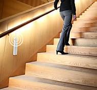 abordables -2pcs 1pcs LED sous armoire 3m 2m lumière avec capteur de mouvement sans fil PIR bande étanche LED lampe port lumière cuisine escaliers armoire lit côté lumière