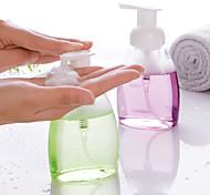 abordables -250 ml vide pressé pompe moussante bouteille de mousse de savon distributeur de conteneurs cosmétiques distributeur de liquide de voyage pour animaux de compagnie