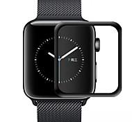abordables -3D bord incurvé HD verre trempé pour Apple Watch série 3 2 1 38mm 42mm Film de protection d'écran pour iwatch 4/5 40mm 44mm colle complète