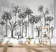 economico -murale autoadesivo personalizzato in bianco e nero foto albero adatto per sfondo muro ristorante camera da letto hotel decorazione murale art
