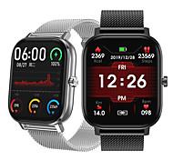 abordables -DT Smartwatch Montre Connectée pour Android iOS Samsung Apple Xiaomi Bluetooth 1.54 pouce Taille de l'écran IP 67 Niveau imperméable Imperméable Ecran Tactile Moniteur de Fréquence Cardiaque Mesure