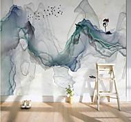abordables -art déco / dessin animé / paysage décoration de la maison revêtement mural moderne, matériel de toile adhésif requis papier peint / mural / tissu mural, revêtement mural de la chambre