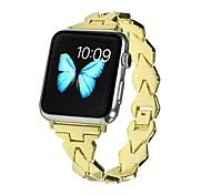 economico -Cinturino intelligente per Apple  iWatch 1 pcs Chiusura classica Acciaio inossidabile Sostituzione Custodia con cinturino a strappo per Apple Watch Serie 5 Apple Watch Serie SE / 6/5/4/3/2/1 38