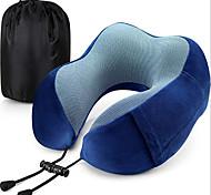 economico -cuscino da viaggio memory foam collo collo supporto testa cuscino morbido cuscino per riposo in aereo viaggio confortevole e leggero supporto migliorato