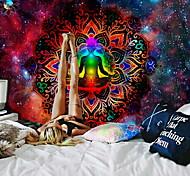 abordables -mandala bohème tapisserie murale art décor couverture rideau suspendu maison chambre salon dortoir décoration boho hippie psychédélique fleur floral lotus bouddha indien