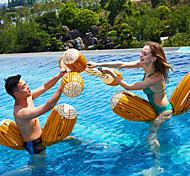 abordables -Jouets Gonflables de Piscine Piscine gonflable Amusement PVC Eté De plein air Plage Fête de la piscine 4 pcs Homme Femme Adultes