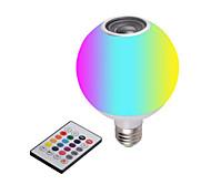 abordables -nouvelle ampoule led musique bluetooth avec télécommande lumière blanche télécommande colorée RGB ampoule bluetooth à changement de couleur