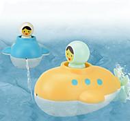 abordables -Jeu de Bain Jouets aquatiques Jouets pour piscine Ensembles de jeux d'eau Jouets de bain Jouet de baignoire Plastique Flottant Liquider Salle de Bain Eté pour les tout-petits, cadeau de bain pour