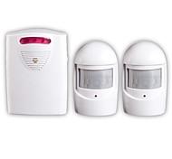 economico -uno per due infrarossi kit di allarme allarme vialetto senza fili di sicurezza led campanello sensore corsia campanello fai da te allarme vocale