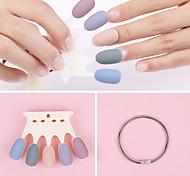 economico -50pcs carta di colore per manicure un pezzo di pratica strumenti per manicure per tabellone per unghie