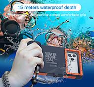 economico -telefono Custodia Per Apple Integrale iPhone 12 Pro Max 11 SE 2020 X XR XS Max 8 7 6 Impermeabile Resistente agli urti Resistente all'acqua Frasi famose Acrilico