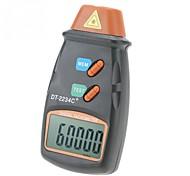 abordables -tachymètre numérique dt-2234c sans contact numérique lcd laser photo tachymètre mini rpm testeur mètre vitesse instrument de mesure