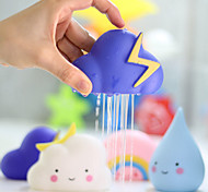 cheap -Baby Bath Toys Bathroom Play Water Spraying Tool Clouds Shower Floating Toys Kids Baby Bathroom Water Toys Early Educational-4 PCS