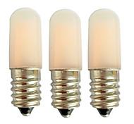 abordables -3 pcs 1.5 w led maïs lumières 80 lm e14 e12 t10 2 perles led énergie solaire blanc chaud blanc