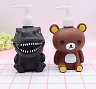 abordables -300 ml dinosaure panda bande dessinée lotion bouteille shampooing vide lotion conteneur pressé pompe bouteille pour savon douche gel