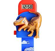 economico -SKMEI bambini Orologio digitale Digitale Digitale Stampa animalier Cartone animato Creativo Adorabile / Un anno