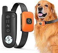abordables -collier de choc pour chien de compagnie avec colliers électriques à distance de 1000 pieds pour collier de dressage de chien étanche pour animaux de compagnie pour petits chiens de taille moyenne