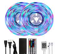 abordables -Mashang Bright RGBW LED Strip Lights 32.8ft 10m RGBW Tiktok Lights 2340leds SMD 2835 avec 44 touches IR télécommande et adaptateur 100-240V pour la maison chambre cuisine TV rétro-éclairage bricolage