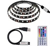 abordables -Loende 2m jeux de lumière led bandes de lumière rgb tiktok lumières 60 leds smd5050 1 set étanche usb partie 5 v alimenté par usb