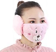 abordables -masque animaux mignons modèle polaire anti-poussière hiver adulte thermique des masques de protection respiratoire de la gaze de santé