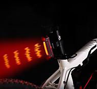 economico -LED Luci bici Luce posteriore per bici LED Bicicletta Ciclismo Portatile Grandangolo Rilascio rapido Leggero Litio-polimero 110 lm Batteria ricaricabile Colori primari Rosso Ciclismo