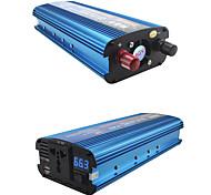 economico -Carmaer inverter 12v / 24v / 220v 2200w convertitore di tensione per auto convertitore per auto convertitore 12v / 24v 220v inverter per auto solare caricatore per inverter
